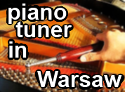 Piano tuner in Warsaw, Poland