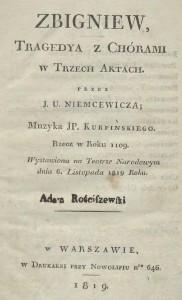 Zbigniew Karola Kurpińskiego