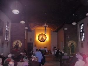 Wystrój kościoła Wszystkich Świętych w Lublinie