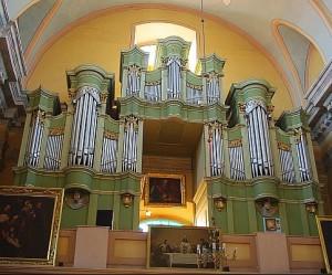 Organy katedralne w Pińsku