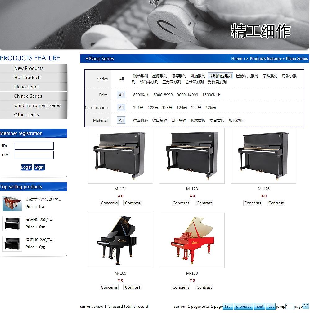 Nowa kolekcja polskich fortepianów i pianin prosto z Chin