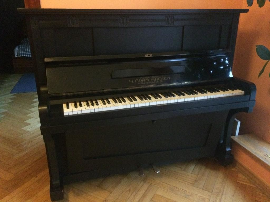 Pianino H. Adam, Aachen