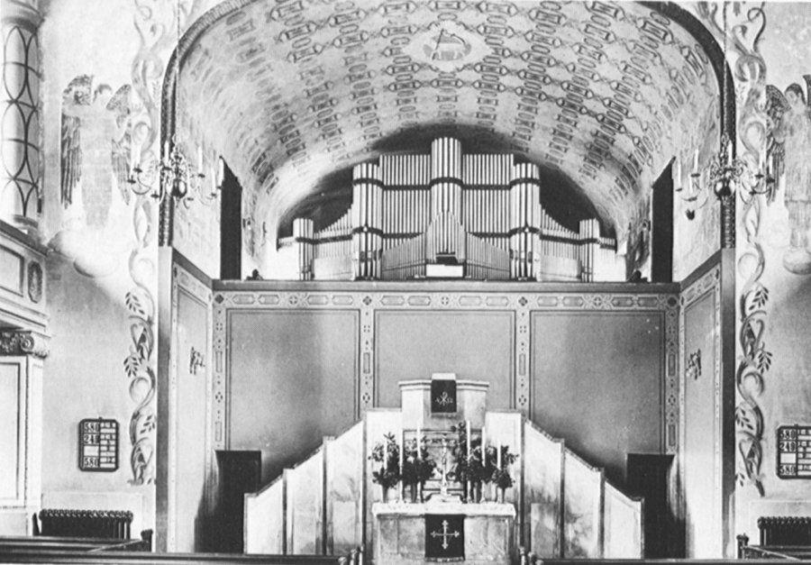 Organy Schlaga w pierwotnym miejscu