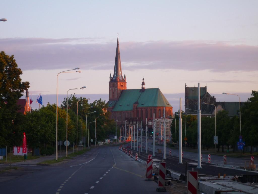 Szczecin-panorama-katedry-Rostislaw-Wygranienko