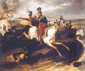 Śmierć księcia Józefa Poniatowskiego