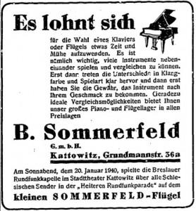 B. Sommerfeld GmbH, Kattowitz